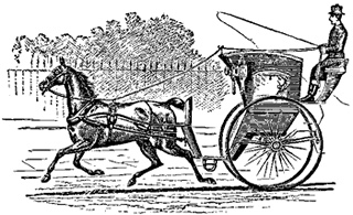 horse drawn cab
